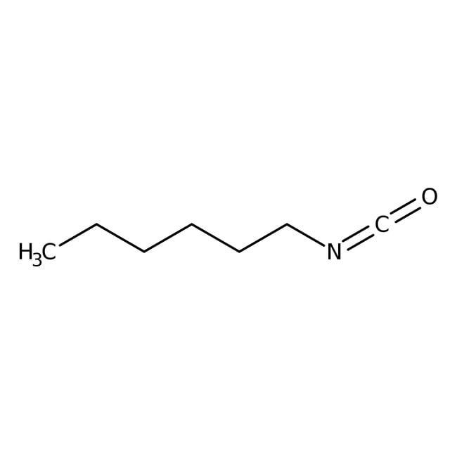 Hexylisocyanat 99%, ACROS Organics™ 5g; Glasflasche in Kunststoffbehälter Hexylisocyanat 99%, ACROS Organics™