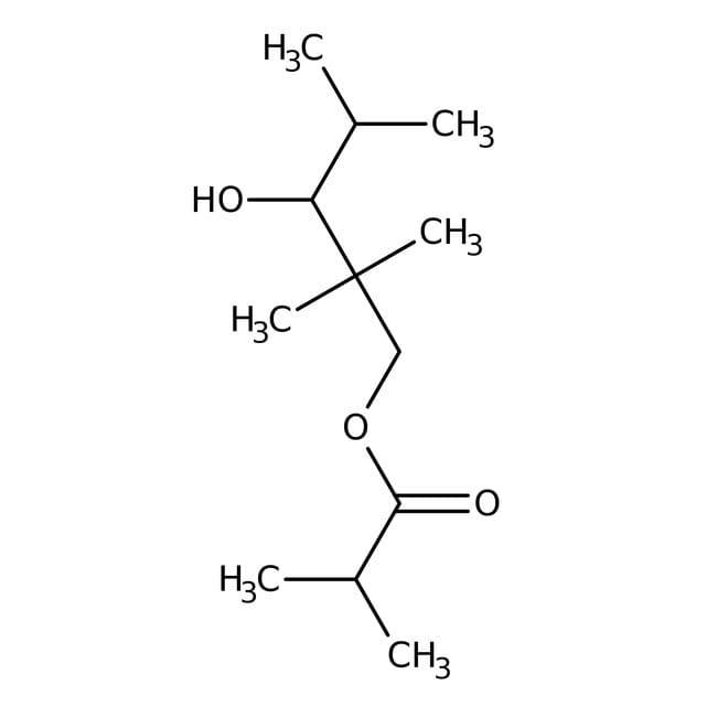 3-Hydroxy-2,2,4-trimethylpentyl Isobutyrate 60.0+%, TCI America™