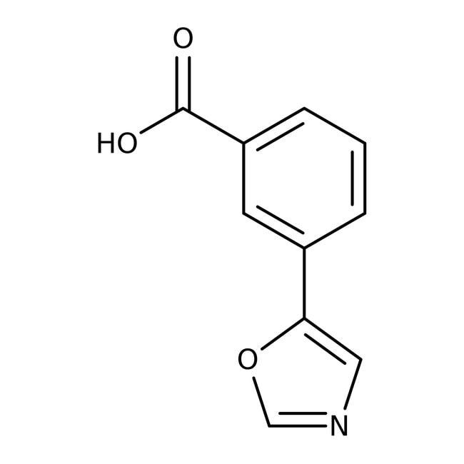 3-(1,3-Oxazol-5-yl)benzoic acid, ≥97%, Maybridge™: Oxazoles Azoles