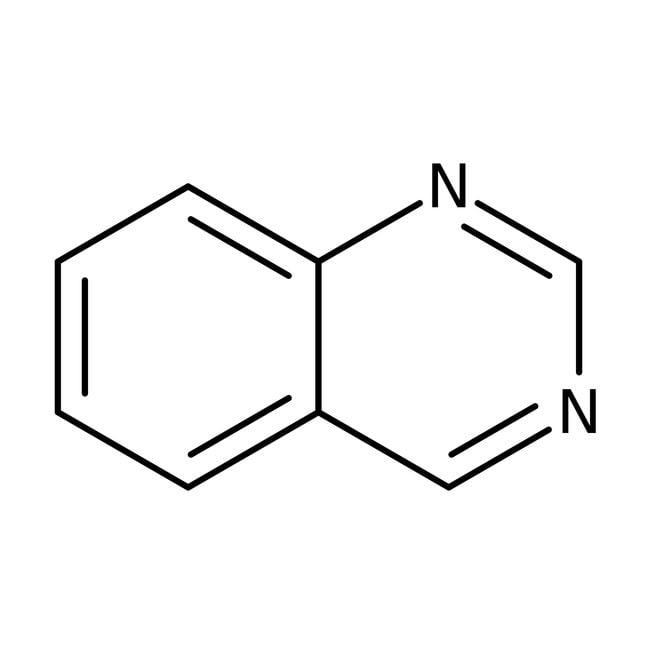 Quinazoline, 98%, ACROS Organics™ 5g; Glass bottle Quinazoline, 98%, ACROS Organics™