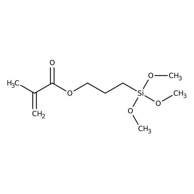 Alfa Aesar  3-(Methacryloyloxy)propyltrimethoxysilane, 97%