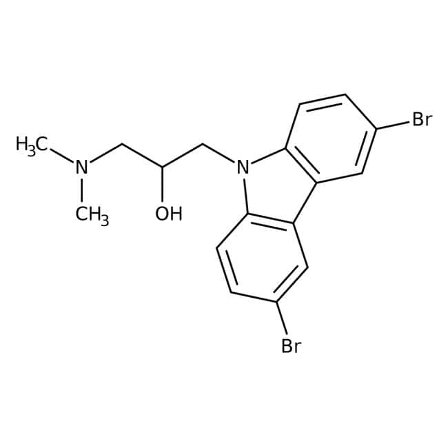 1-(3,6-Dibromo-9H-carbazol-9-yl)-3-(dimethylamino)propan-2-ol, 97%, Maybridge™