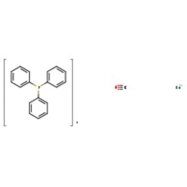Carbonyldihydridotris(triphenylphosphine)ruthenium(II), White crystalline, 99%, Alfa Aesar