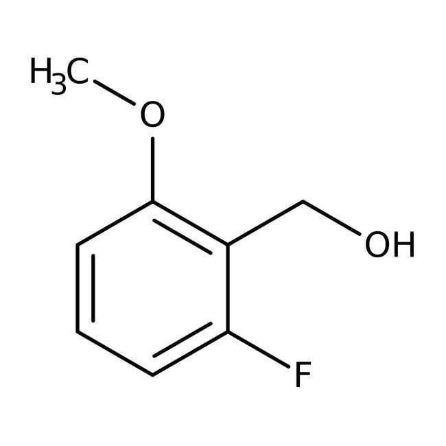Alfa Aesar™2-Fluor-6-methoxybenzylalkohol, 98% 1g Alfa Aesar™2-Fluor-6-methoxybenzylalkohol, 98%