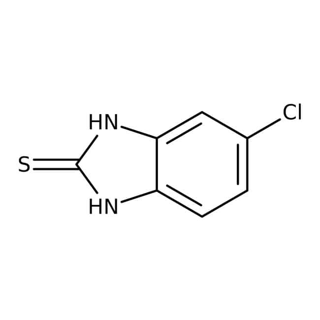 5-Chloro-2-mercaptobenzimidazole, 98%, Acros Organics