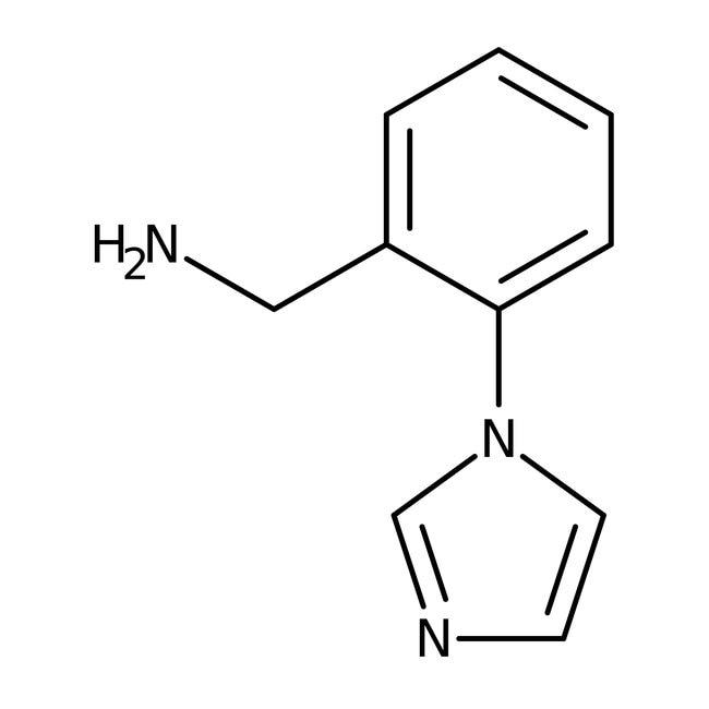 2-(1H-Imidazol-1-yl)benzylamine, 97%, ACROS Organics™