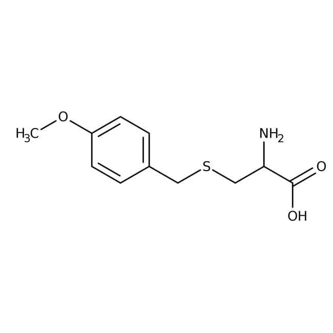 Alfa Aesar™S-(4-Methoxybenzyl)-L-cysteine, tech. 80% 5g Alfa Aesar™S-(4-Methoxybenzyl)-L-cysteine, tech. 80%
