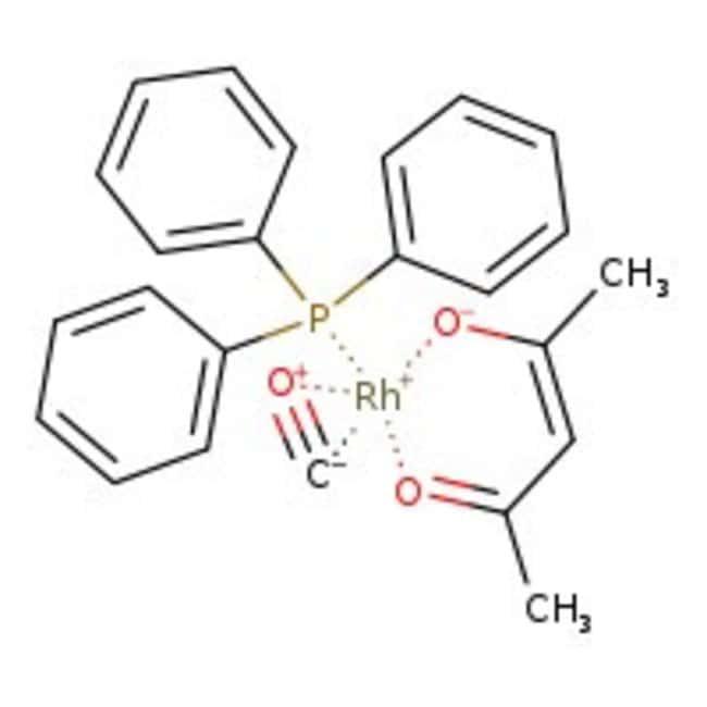 Alfa Aesar™Carbonyl-2,4-pentanedionato(triphenylphosphin)rhodium(I), Rh 21% 1g Produkte