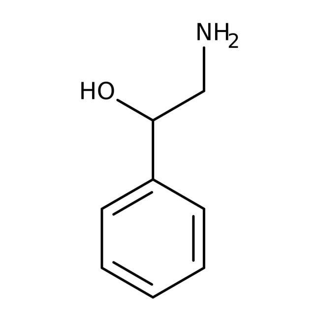 Alfa Aesar™ (R)-(-)-2-Amino-1-phenylethanol, 97%, ee 98
