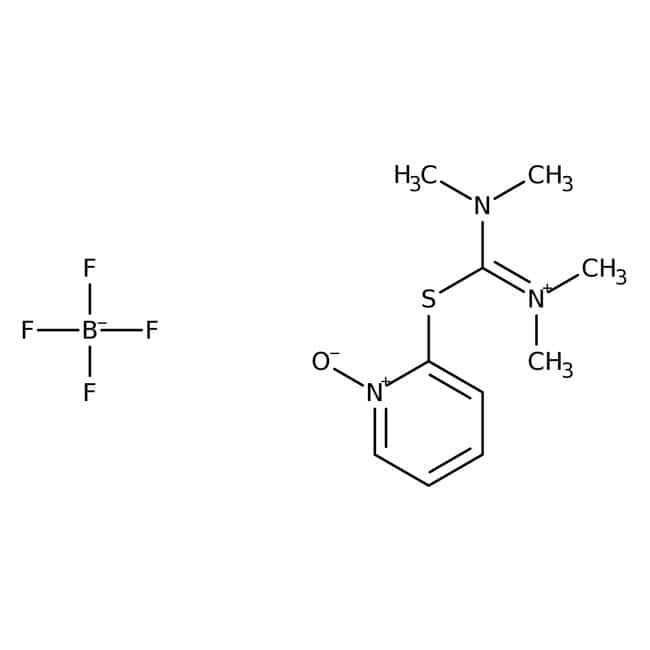 Alfa Aesar™S-(1-Oxido-2-pyridyl)-N,N,N',N'-tetramethylthiuronium tetrafluoroborate, 98+%
