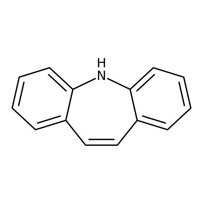 Iminostilbene, 97%, ACROS Organics™ 10g; Glass bottle Iminostilbene, 97%, ACROS Organics™