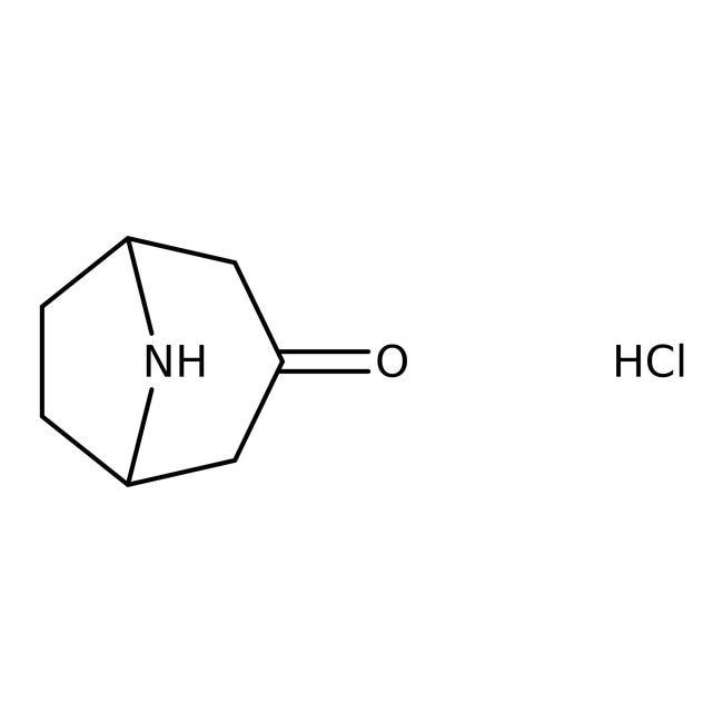 Nortropinone hydrochloride, 97%, ACROS Organics™ 5g Nortropinone hydrochloride, 97%, ACROS Organics™