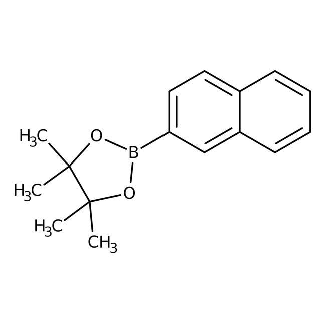 Alfa Aesar™Naphthalene-2-boronic acid pinacol ester, 97% 5g Alfa Aesar™Naphthalene-2-boronic acid pinacol ester, 97%