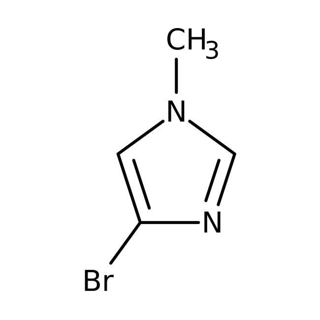 4-Brom-1-Methyl-1H-Imidazol, 95%, Acros Organics 5 g-Glasflasche 4-Brom-1-Methyl-1H-Imidazol, 95%, Acros Organics