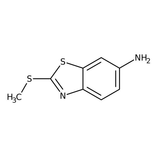 2-(Methylthio)-1,3-benzothiazol-6-amine, 97%, Maybridge Amber Glass Bottle; 1g 2-(Methylthio)-1,3-benzothiazol-6-amine, 97%, Maybridge