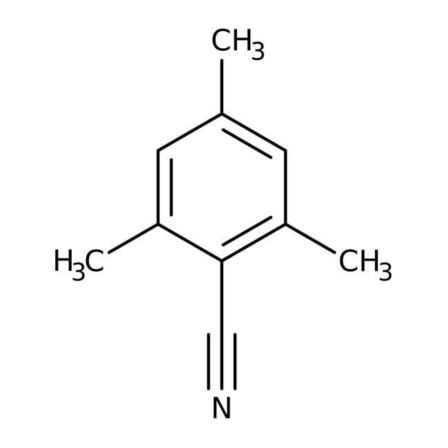 Alfa Aesar™2,4,6-Trimetilbenzonitrilo, 98% 25g Alfa Aesar™2,4,6-Trimetilbenzonitrilo, 98%