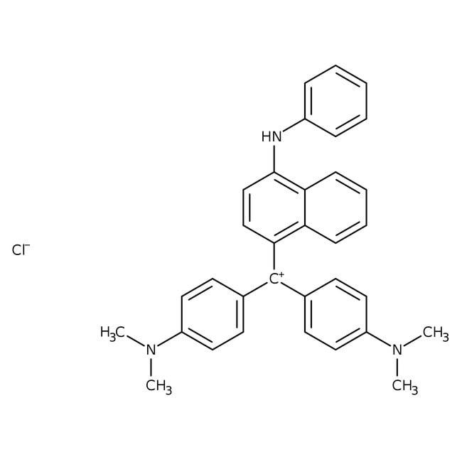 Viktoriablau B, rein, ACROS Organics™ 25 g-Glasflasche Viktoriablau B, rein, ACROS Organics™