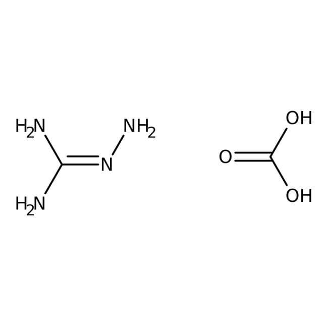Aminoguanidine bicarbonate, 98.5%, ACROS Organics™ 5Kg; Plastic bucket Aminoguanidine bicarbonate, 98.5%, ACROS Organics™