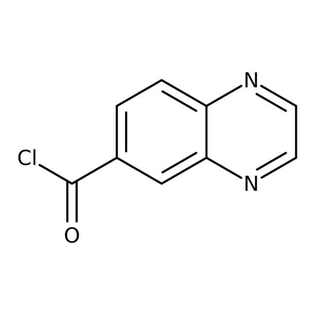 6-Quinoxalinecarbonyl chloride, 95%, Maybridge