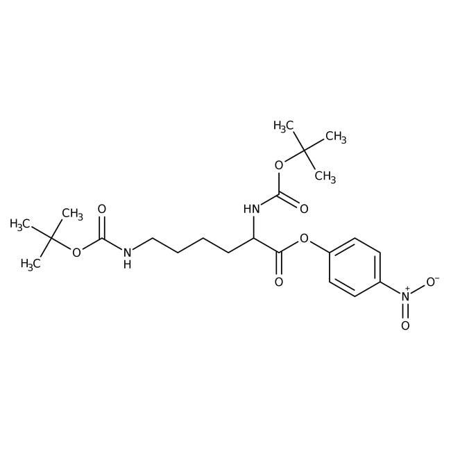 Alfa Aesar™Nalpha,Nepsilon-Di-Boc-L-lysine 4-nitrophenyl ester, 98% 5g Alfa Aesar™Nalpha,Nepsilon-Di-Boc-L-lysine 4-nitrophenyl ester, 98%