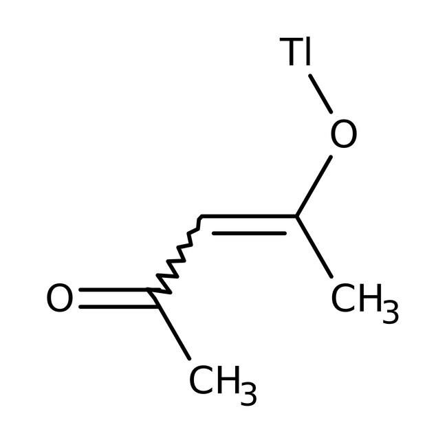Alfa Aesar™Thallium(I)-2,4-Pentandionat, 97+% 1g Alfa Aesar™Thallium(I)-2,4-Pentandionat, 97+%