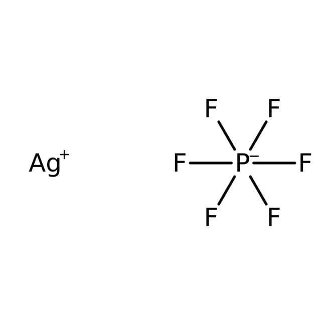Silver hexafluorophosphate, 98%, -6 mesh, ACROS Organics