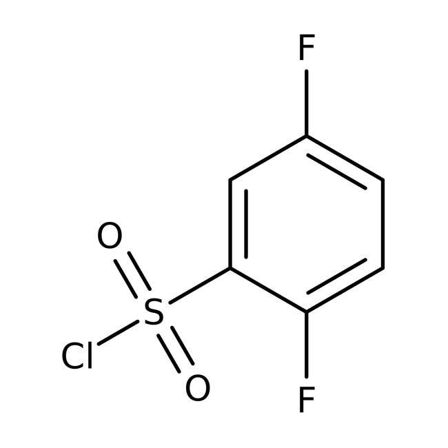 2,5-Difluorobenzenesulfonyl chloride, 97%, ACROS Organics™ 1g; Glass bottle 2,5-Difluorobenzenesulfonyl chloride, 97%, ACROS Organics™