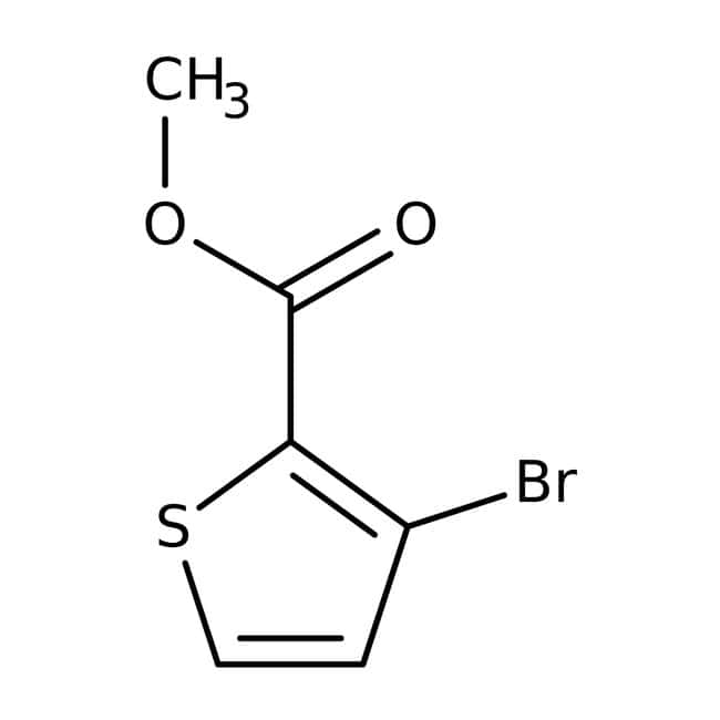 Methyle3-bromothiophene-2-carboxylate, 97%, Maybridge™ Amber Glass Bottle; 10g prodotti trovati