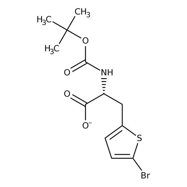 (R)-N-BOC-2-(5-Bromothienyl)alanine, 95%, 98% ee, Acros Organics