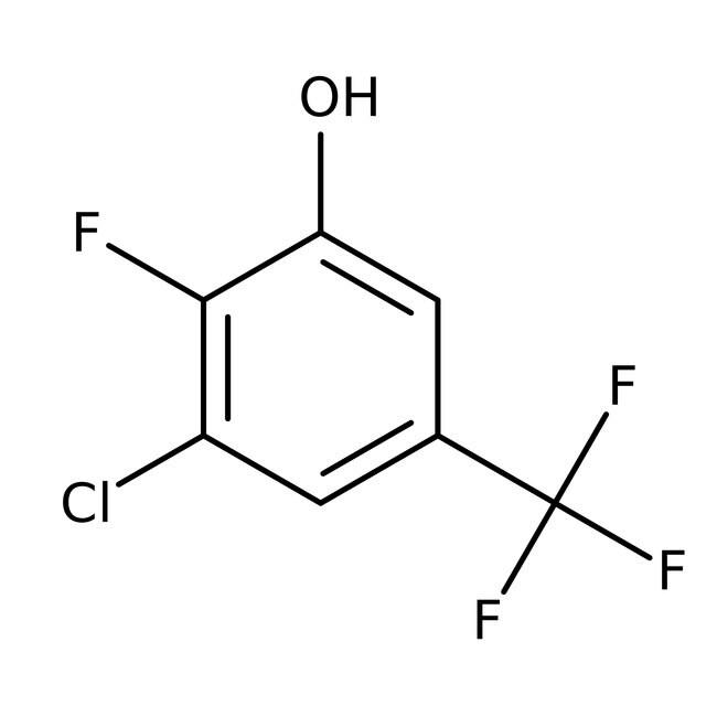 Alfa Aesar™3-Cloro-2-fluoro-5-(trifluorometil)fenol, +97% 1g Alfa Aesar™3-Cloro-2-fluoro-5-(trifluorometil)fenol, +97%