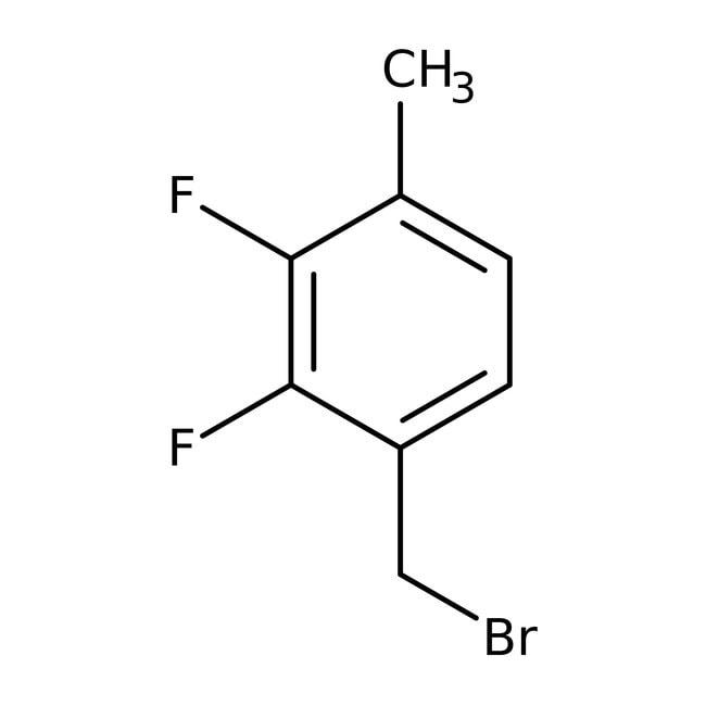 Alfa Aesar™Bromure de 2,3-difluoro-4-méthylbenzyle, 97% 1g Alfa Aesar™Bromure de 2,3-difluoro-4-méthylbenzyle, 97%