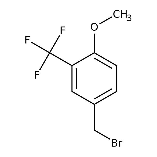 Alfa Aesar™Bromure de 4-méthoxy-3-(trifluorométhyl)benzyle, 97 % 5g Alfa Aesar™Bromure de 4-méthoxy-3-(trifluorométhyl)benzyle, 97 %