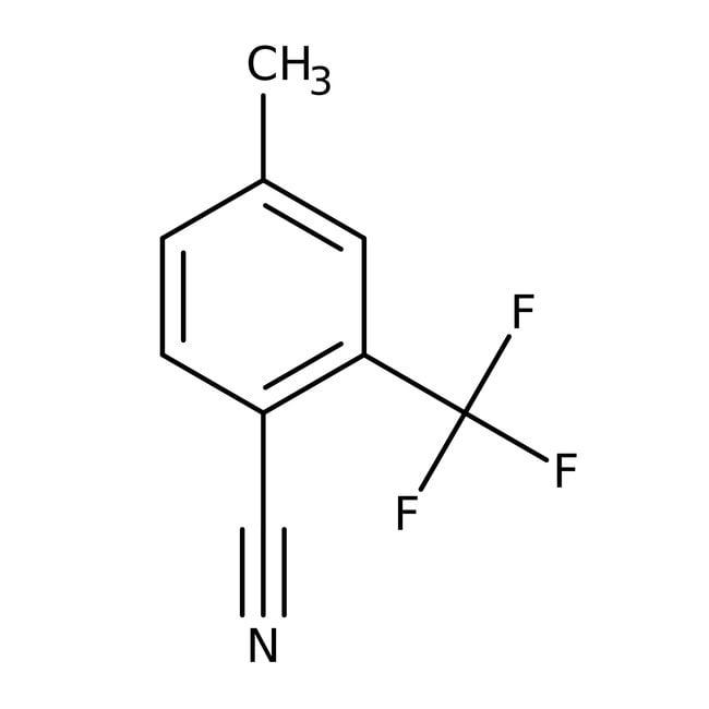 Alfa Aesar™4-Methyl-2-(trifluormethyl)-Benzonitril, 98% 1g Alfa Aesar™4-Methyl-2-(trifluormethyl)-Benzonitril, 98%