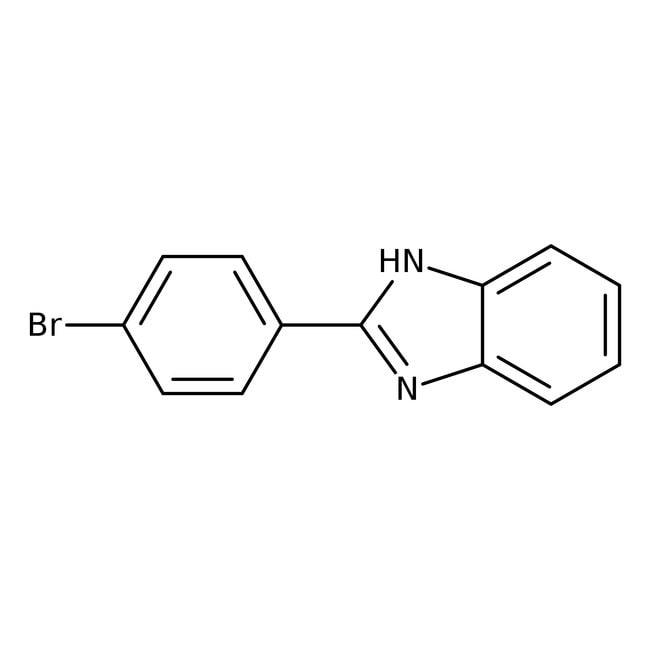 Alfa Aesar™2-(4-Bromophenyl)benzimidazole, 95% 5g Alfa Aesar™2-(4-Bromophenyl)benzimidazole, 95%