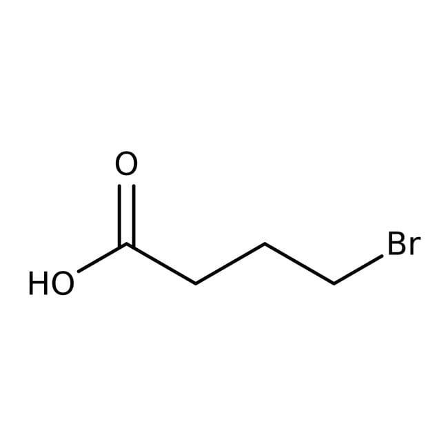 4-Bromobutyric acid, 98%, ACROS Organics™
