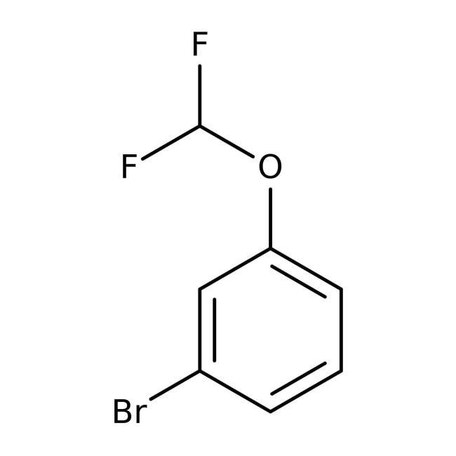 Alfa Aesar™1-Bromo-3-(difluoromethoxy)benzene, 97+% 5g Alfa Aesar™1-Bromo-3-(difluoromethoxy)benzene, 97+%