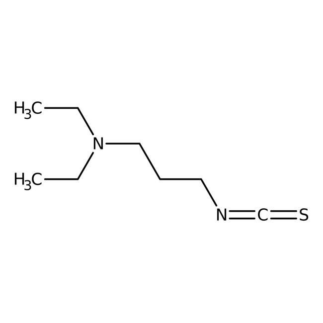 Alfa Aesar™3-Diethylamino-1-propyl isothiocyanate, 97% 1g Alfa Aesar™3-Diethylamino-1-propyl isothiocyanate, 97%