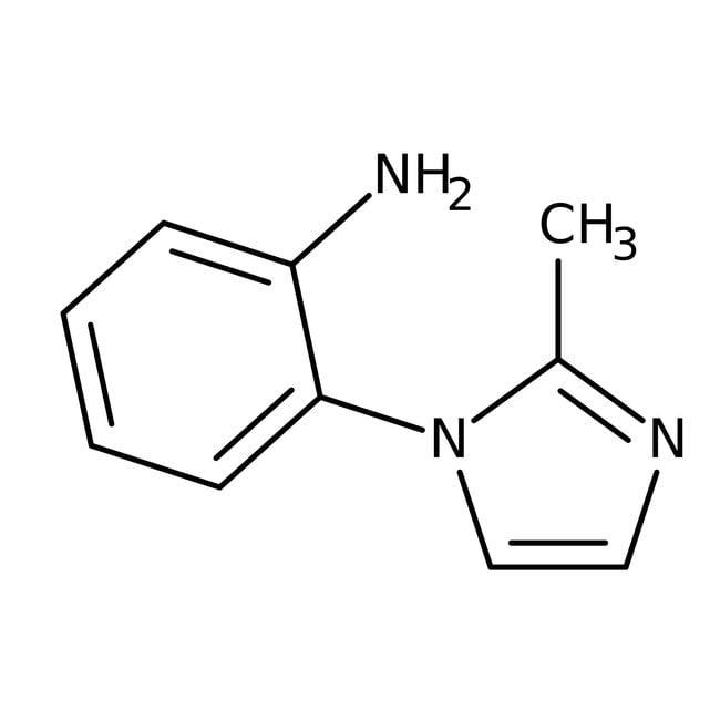 2-(2-Methyl-1H-imidazol-1-yl)aniline, 97%, Maybridge Amber Glass Bottle; 1g 2-(2-Methyl-1H-imidazol-1-yl)aniline, 97%, Maybridge