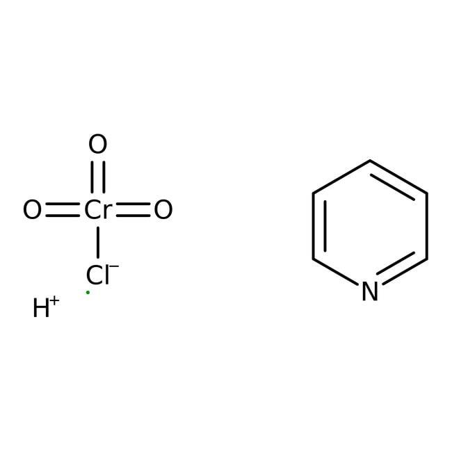 Pyridinium chlorochromate, 98%, ACROS Organics™ 100g; Plastic bottle Pyridinium chlorochromate, 98%, ACROS Organics™