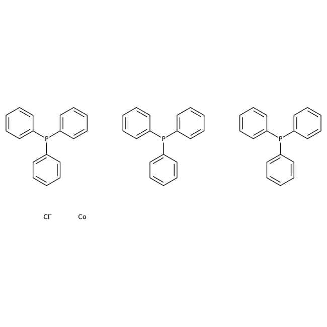 Alfa Aesar™Chlorotris(triphenylphosphine)cobalt(I), 97%