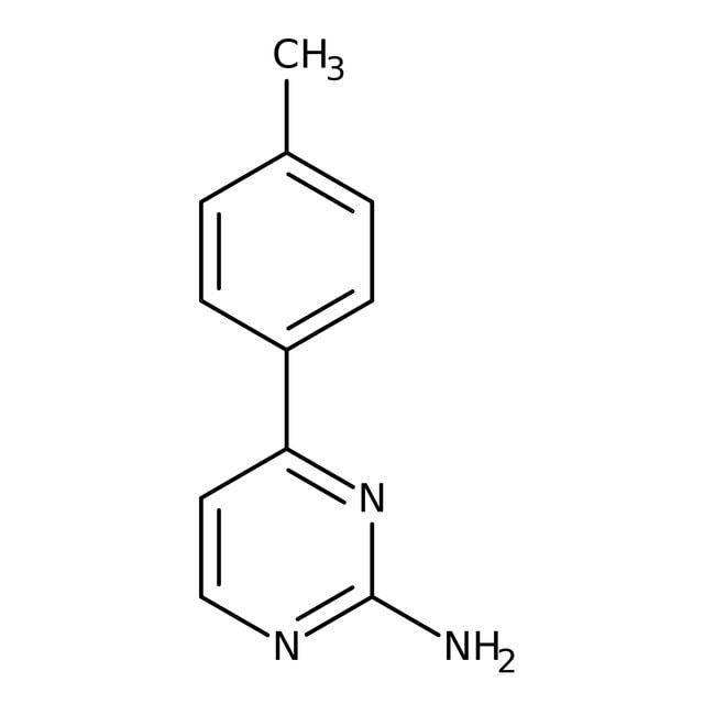 Alfa Aesar™2-Amino-4-(4-methylphenyl)-pyrimidin, 96%: Chemicals Produkte