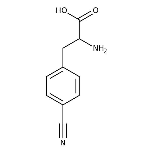 Alfa Aesar™4-Cyano-D-phenylalanine, 98% 250mg Alfa Aesar™4-Cyano-D-phenylalanine, 98%