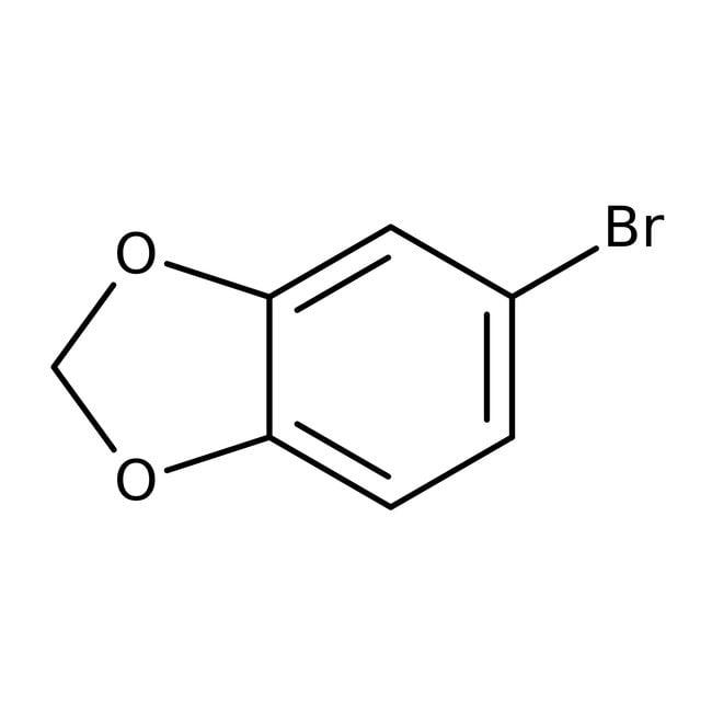 Alfa Aesar™4-Bromo-1,2-(methylenedioxy)benzene, 98% 5g Alfa Aesar™4-Bromo-1,2-(methylenedioxy)benzene, 98%