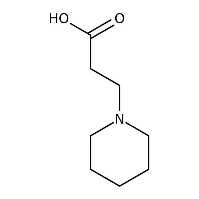 1-Piperidinepropionic acid, 96%, ACROS Organics
