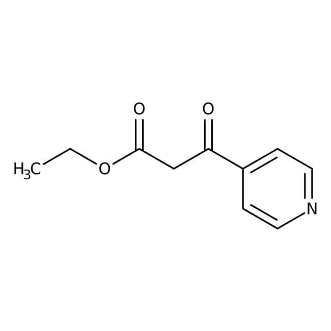 Alfa Aesar™Ethyl 3-oxo-3-(4-pyridyl)propionate, 98% 5g Alfa Aesar™Ethyl 3-oxo-3-(4-pyridyl)propionate, 98%