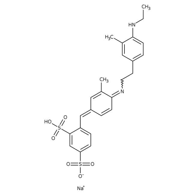 Xylene cyanol FF, ∽75%, ACROS Organics™ 50g; Glass bottle Xylene cyanol FF, ∽75%, ACROS Organics™