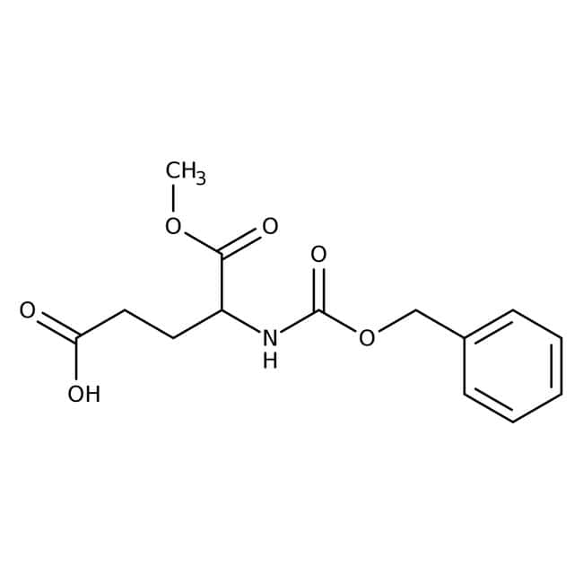 Alfa Aesar™N-Benzyloxycarbonyl-D-Glutaminsäure1-Methylester, 98% 1g Alfa Aesar™N-Benzyloxycarbonyl-D-Glutaminsäure1-Methylester, 98%