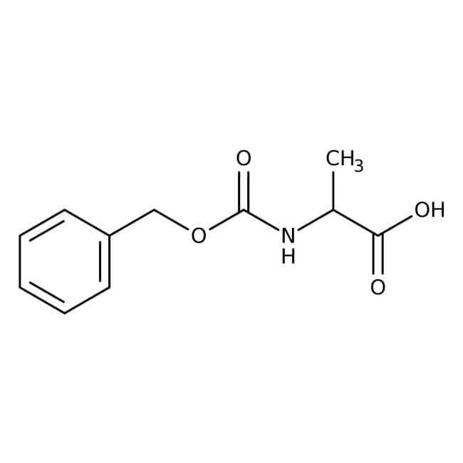 N-Carbobenzyloxy-D-alanine, 98%, ACROS Organics™ 1g N-Carbobenzyloxy-D-alanine, 98%, ACROS Organics™