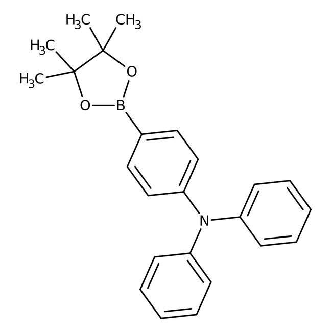 Alfa Aesar™4-(Diphenylamino)benzeneboronic acid pinacol ester, 95% 1g Alfa Aesar™4-(Diphenylamino)benzeneboronic acid pinacol ester, 95%