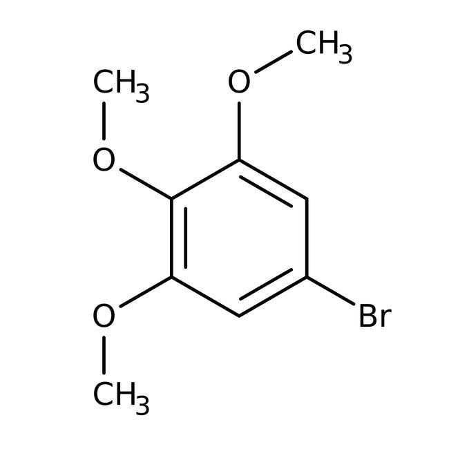 1-Bromo-3,4,5-trimethoxybenzene, 97%, Acros Organics™ 5g 1-Bromo-3,4,5-trimethoxybenzene, 97%, Acros Organics™